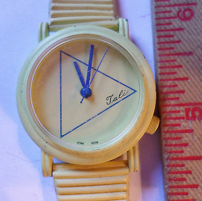 Vintage Tali Sports watch collectible working old timepiece made Hong Kong
