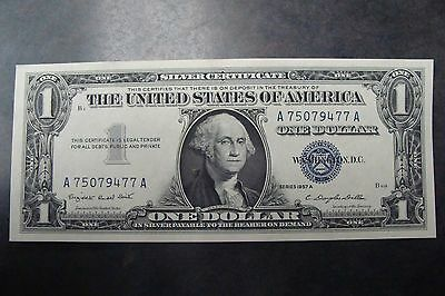 Uncirculated 1957 A $1 Silver Certificate - MUST SEE!!!