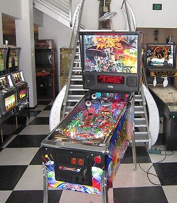 Attack From Mars Pinball Machine ~ Bally  ~ Outstanding One Of Kind Example