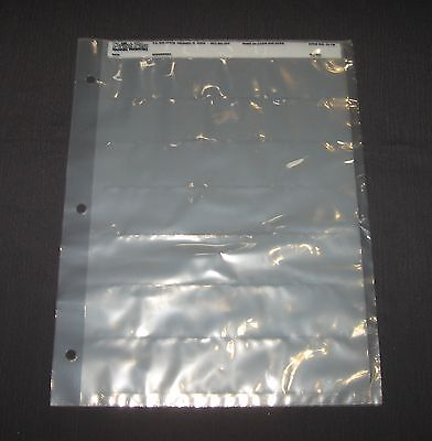 7 Sheets  - Print File - Archival Preservers - Style # 35-7B - Clear Plastic