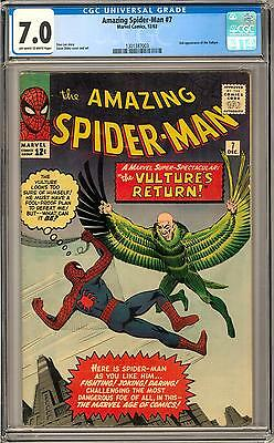Amazing Spider-Man #7 CGC 7.0 (OW-W) 2nd Appearance of the Vulture