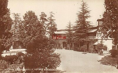 India Mussoorie Charleville Hotel From Driveway & Trees Photo Card
