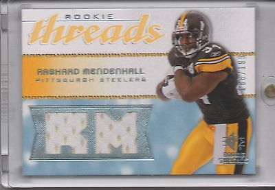 Rashard Mendenhall Worn JSY 2008 UD SP Rookie Threads 088/199