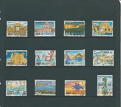 Malta ( Definitive Issue  ) 1991 Set of 21 Stamps Used