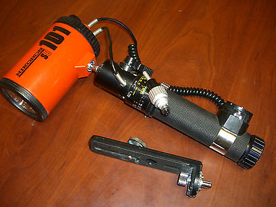 Vintage underwater Nikonos SB-101 . For parts or repair. Cannot open Battery cap