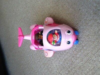 Fisher Price Pink Aeroplane With Little People