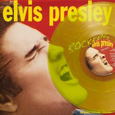 Elvis Presley, ROCKERS, Clear Lime Vinyl, Limited Edition of 120