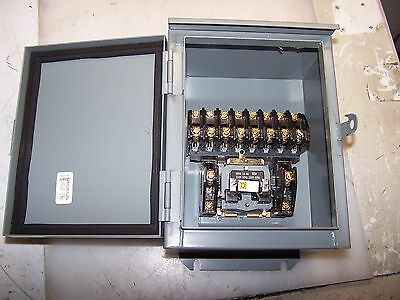 New Square D 20 Amp Enclosed Lighting Contactor Coil 120 Vac 8903 Lo1000
