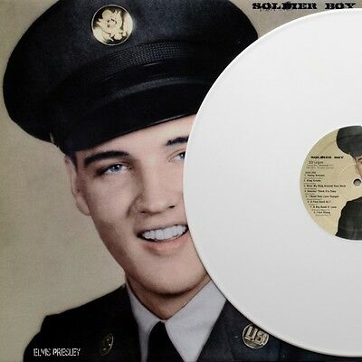 Elvis Presley, SOLDIER BOY, White Vinyl, Limited Edition of 150