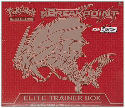 Pokémon TCG: XY BREAKpoint Elite Trainer Box