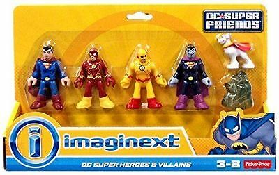Heroes & Villains 4 pack - Imaginext DC Super Friends - Fisher Price Flash Zoom
