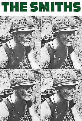 """The Smiths Poster Meat is Murder 24"""" x 36""""  Free US Shipping"""