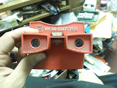 View-Master Model G Viewer, Bicentennial Red, White & Blue With Blue Lever