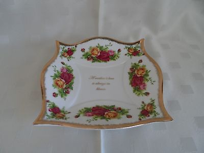 Royal Albert, Old Country Roses Decorative Tray - Unusual