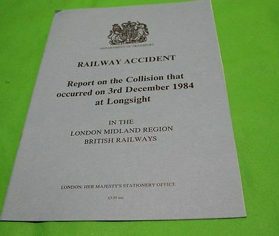 Railway Accident Report Collision At Longsight 1984