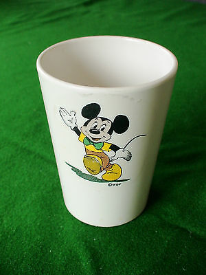 Melaware RARE Disney Mickey Mouse Cup VINTAGE