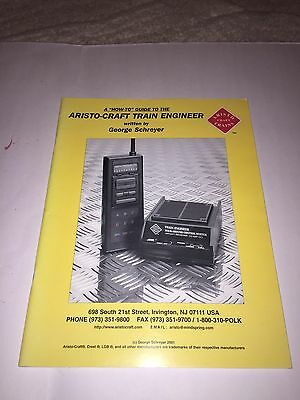 Aristocraft Train Engineer How to guide book - very rare no longer in print