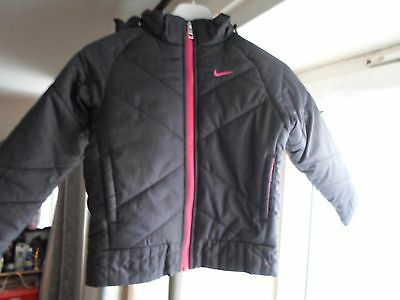 Nike Thermore Insulated Girls Winter Jacket-Bnwot - Size 4-5 Years - Auction!!!