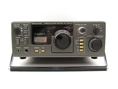 Very Nice Trio Kenwood R-1000 Communications Receiver with Instruction Manual