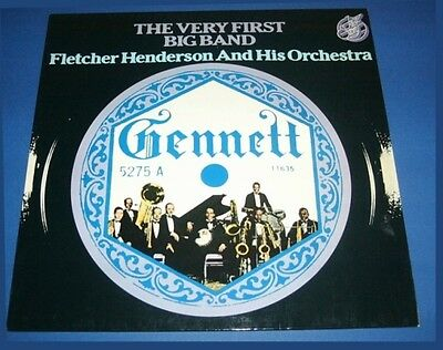 LP FLETCHER HENDERSON : GENNETT FIRST BIG BAND von 1923! Jazz Story rar Dixie