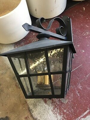 Spanish Revival Reproduction Exterior Side Mount Wall Sconce Garden Lights