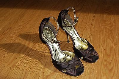 REDUCED Sam Edelman PAISLEY Sequin Ankle Strap Platform $150 Silver Pewter