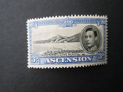 Ascension George VI High value stamp-Read main descriptions/scans/zoom.
