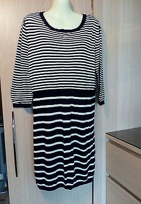 Longline Maternity Jumper Size 16  New Look Free P & P