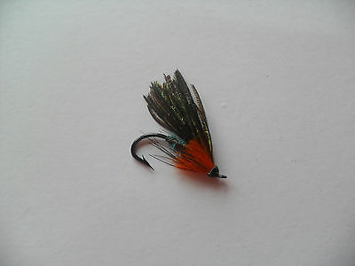 Beauly Snowfly Size 6 Fully Dressed Vintage Salmon Fly date 1920-30