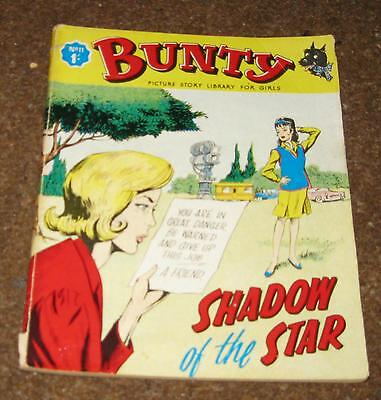 Bunty Picture Library No 11 – Shadow Of The Star (March 1964) Like Mandy & Judy