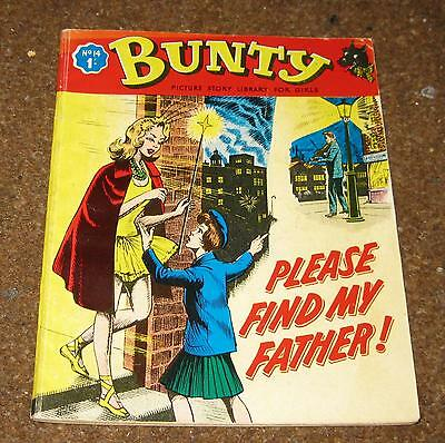 Bunty Picture Library No 14 – Please Find My Father! (Jun 64) Like Mandy & Judy