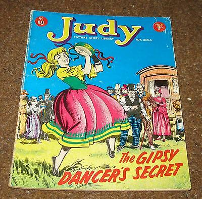 Judy Picture Library No 13 –The Gipsy Dancer's Secret (May 64) Like Mandy & Judy