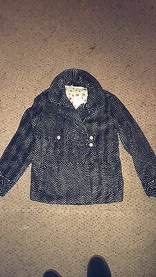 Brand New With Tags Girls Fleece Coat From Next Size 9 Years