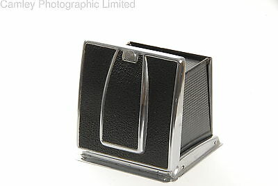 Hasselblad Waist Level Finder (WLF) in Chrome (42021). Condition – 5E [5135]