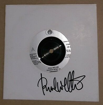 "PAUL WELLER Shadow Of The Sun 7"" 45 Signed"