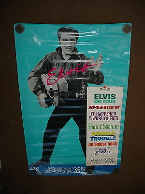 Elvis Presley Movies Poster 58 x 36 Promotional