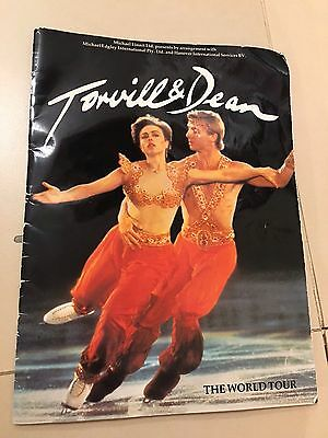 Ice Skating Programme From Torville & Dean The World Tour 1985
