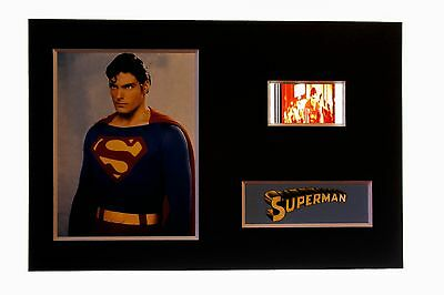 Superman -  6 x 4 Unframed movie film cell display great gift