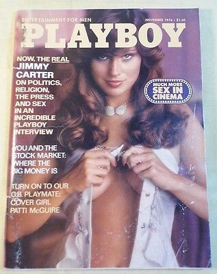 Playboy Nove. 1976 edition with Jimmy Carter interview