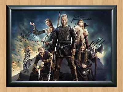 Vikings Clive Standen Signed Autographed A4 Photo Print Poster Memorabilia cast