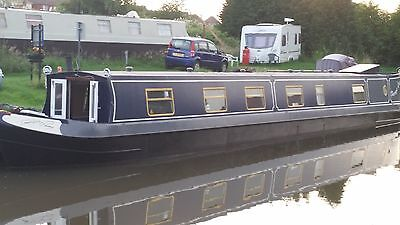 "2003 63ft Semi Trad Narrowboat ""Perrys Luck"" with moorings in Warwichshire"