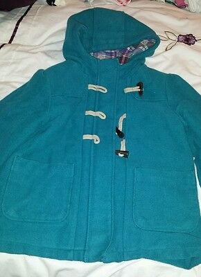 M&S girls 7-8 duffle coat