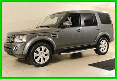 2015 Land Rover LR4 HSE 2015 HSE Used 3L V6 24V Automatic 4WD Premium