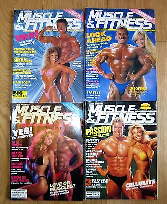 Muscle & Fitness 1988 1989 Magazine Bodybuilding Vintage