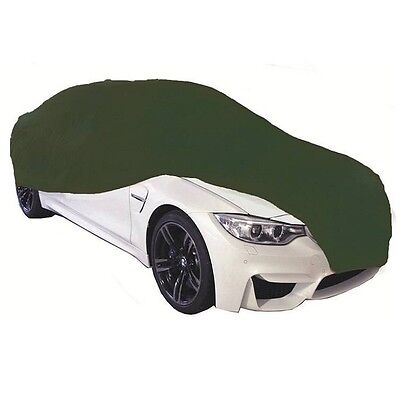 Cosmos Indoor Car Garage Cover LARGE Green Supersoft Breathable Dustproof Fabric