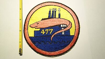 Extremely Rare 1950's USS Conger (SS-477) Trench Class Submarine Patch. RARE!!!