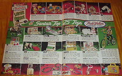 Vintage 1980-83 Christmas Catalogs True Value Hardware Stores Cotter & Company