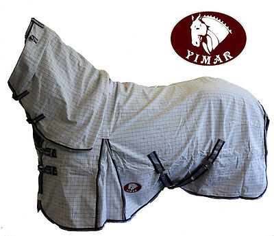 "Yimar 6'0"" Summer Ripstop Cotton Horse Rug Combo SE60"