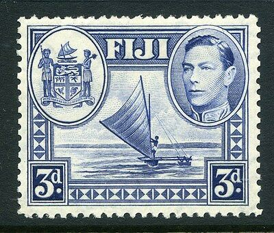 FIJI;  1938 early GVI issue fine Mint hinged 3d. SP-245736 as