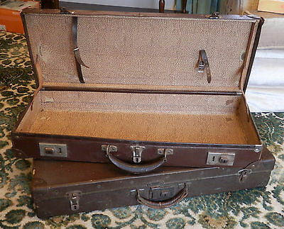 2 Vintage Tennis Racquet Suitcases Great Display Items